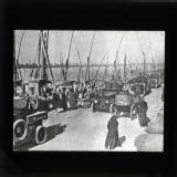 British armoured cars passing along the side of the Nile. Cairo, Dec. 1924