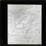 Map showing Afghanistan, India with Amritzar