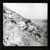 Gurkha troops holding a Sangar Post