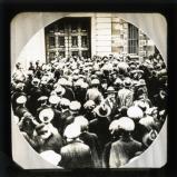 Crowd outside Mountjoy Prison, Dublin, April 1920