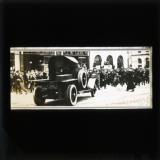 Armoured car in the street, Nov/Dec 1920