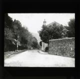 'Photograph of Vico Road, Dalkey, Co. Dublin, the scene according to published photograph of the 'Battle of Tralee' in Co. Kerry'