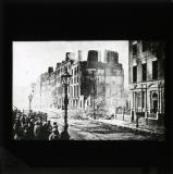 'Upper O'Connell Street as it appeared after the fighting', 1922