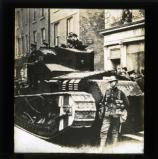 Tank on the streets, February 1920