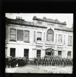 'The citizen army at Liberty Hall', Dublin