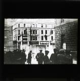 'National troops watch the effect of machine-gun fire on the Gresham and Hamman Hotels', 1922