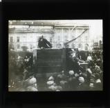 Lenin at the platform