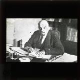 Lenin at his desk