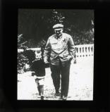 Lenin with his nephew Viktor, the son of Dmitry Ilyich Ulyanov