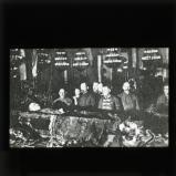 Lenin in open coffin