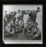 A group of female Bolsheviks at Powidz, in Poland