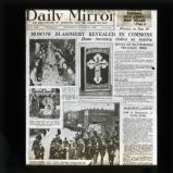 Daily Mirror matchbox propaganda