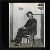 Trotsky prior to transportation to Siberia
