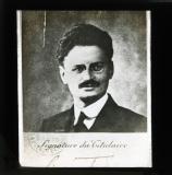 Passport photograph during the war