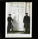 Trotsky's door in Smolny Institute