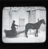 A one-horse sleigh