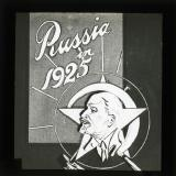Title slide: Russia in 1925