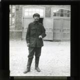 'Our guide' / 'Man at cotton mill, Moscow'