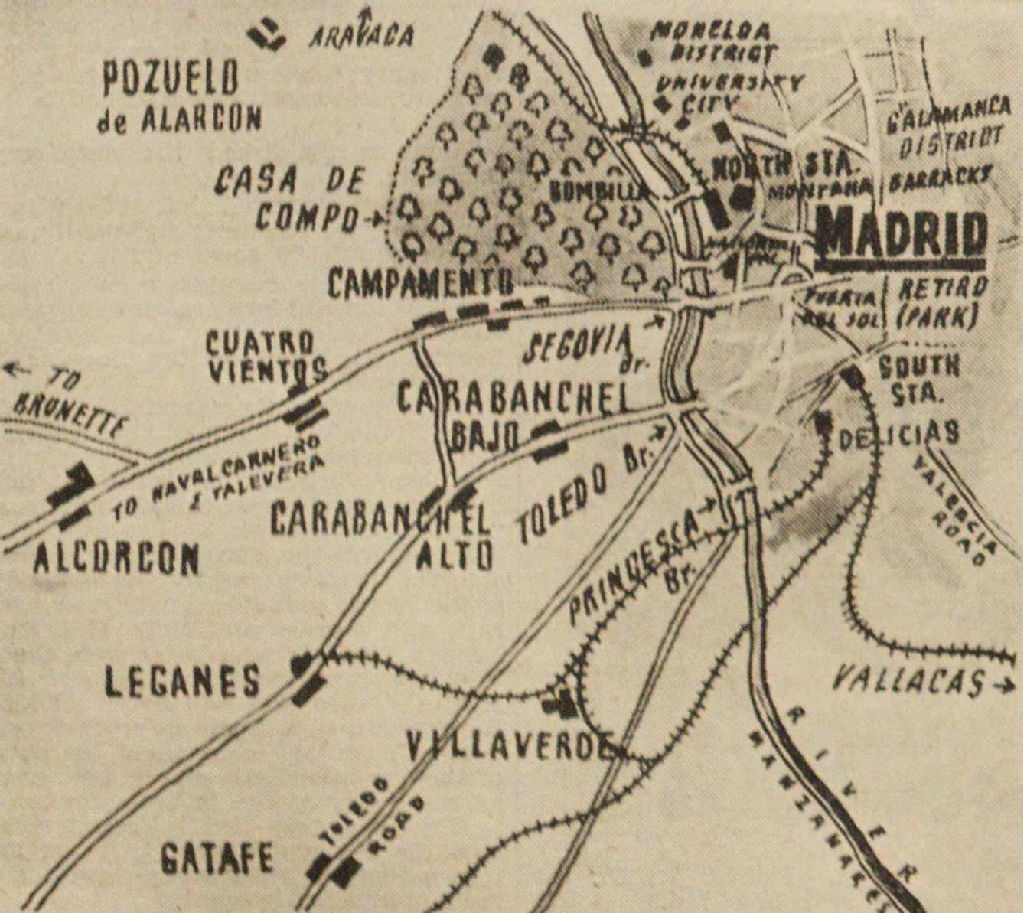 Spanish Civil War maps - Modern Records Centre, University of Warwick