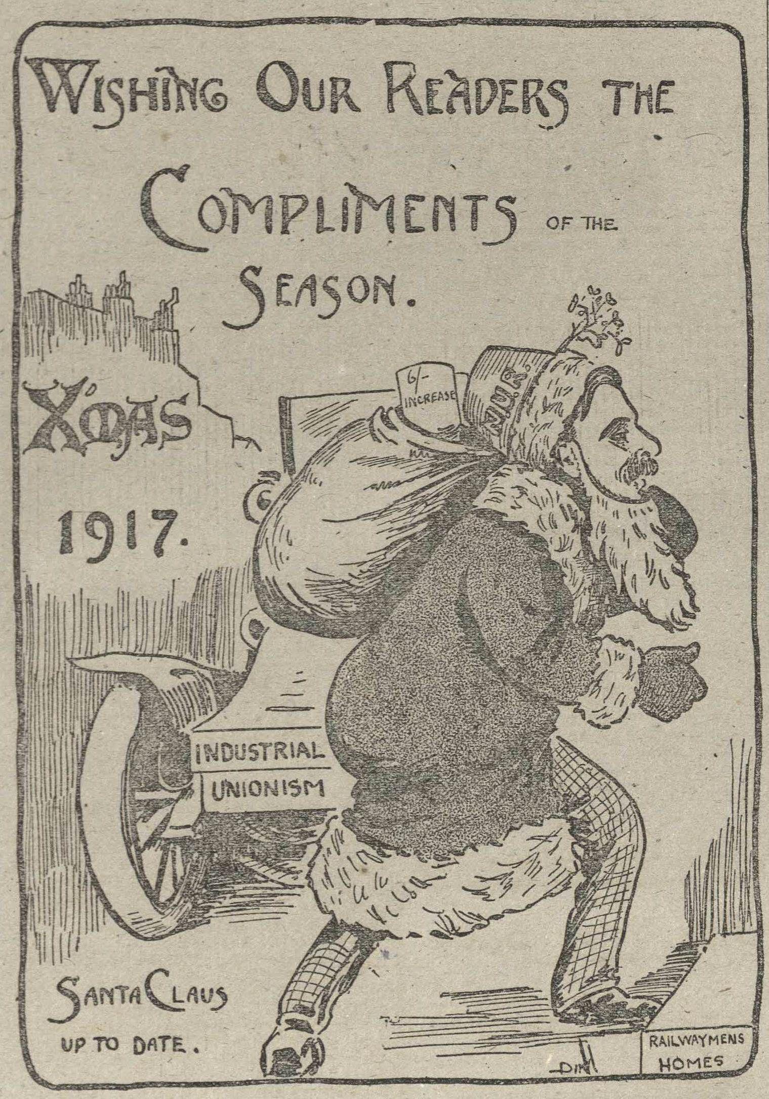 Compliments Of The Season Christmas Greetings