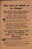 British Union of Fascists leaflet, 1935