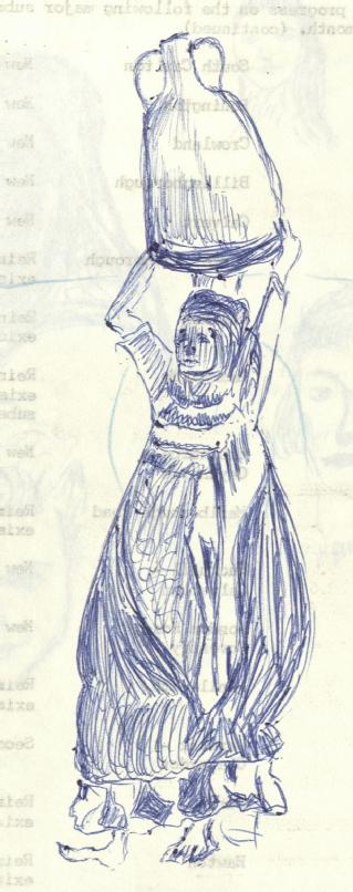 Sketch by William Henry Stokes (in MSS.289/14/2)