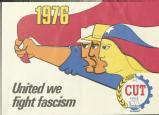 Central Unitaria de Trabajadores de Chile's campaign material 1976