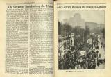 1933-03: 'The gorgeous standards of the union are carried through the heart of London'