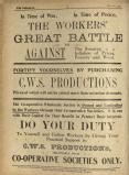 1916-01: First World War advert for CWS Productions