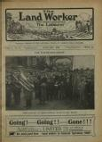 1922-01: 'The Northants strike: Procession at Broughton, with NUR band'
