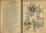 1922-01: 'The struggle in Northants', with cartoon about union vs. workhouse