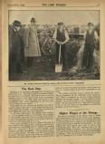 1924-12: 'Mr Walker discusses election issues with his farm-worker supporters'