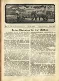 1926-06: 'Better education for our children'
