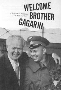 'Welcome Brother Gagarin', 1961