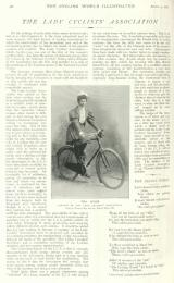 The Cycling World Illustrated, 5 Aug 1896
