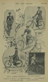 The Lady Cyclist, 22 Aug 1896