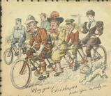 Christmas card, undated