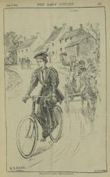 The Lady Cyclist, 29 Aug 1896