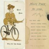 Good luck card, undated