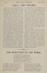 The Lady Cyclist, 31 October 1896