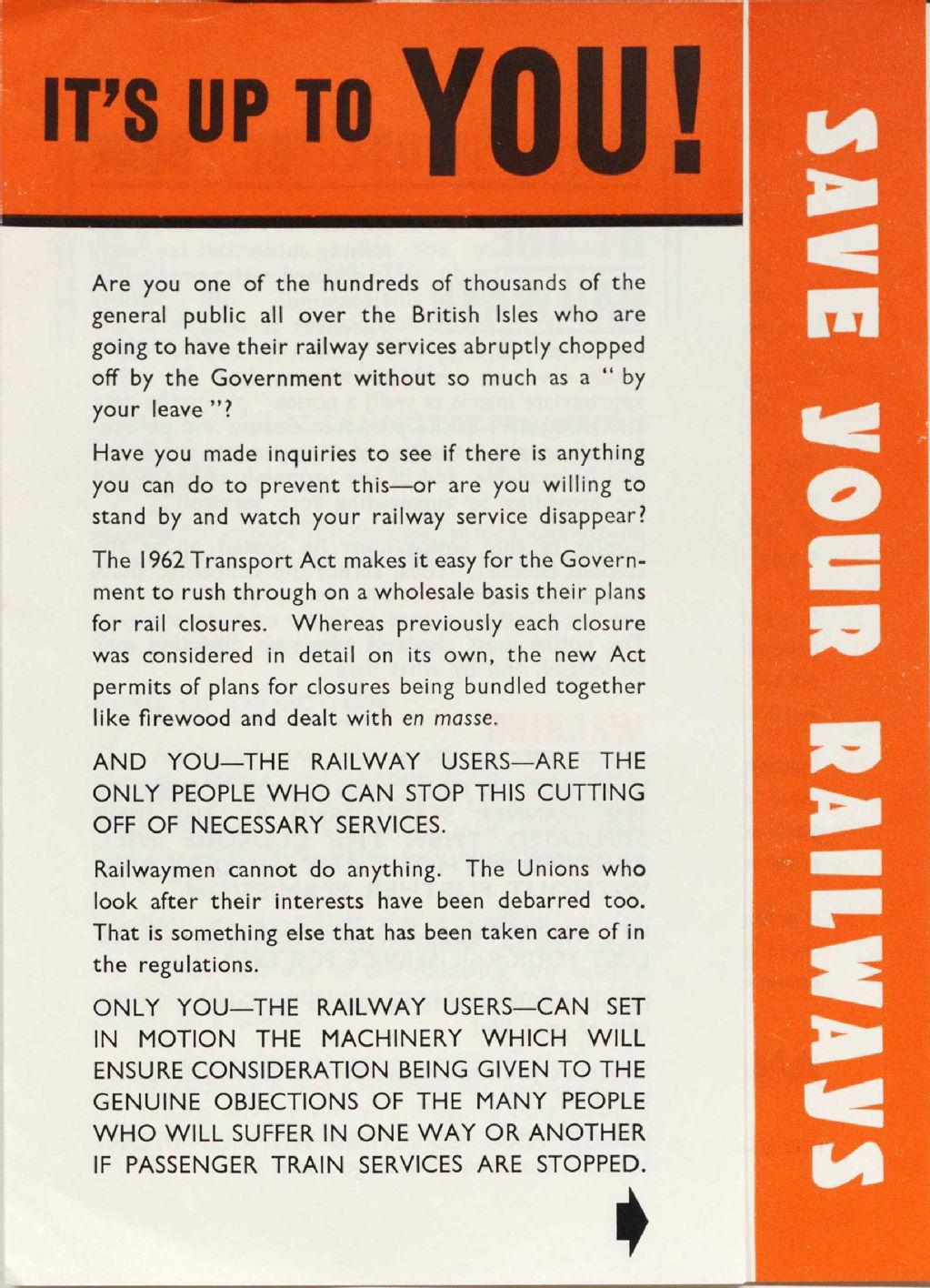 The National Union of Railwaymen, 1913-2013