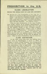 Prohibition in the US. Class legislation brings the whole body of law into contempt [MSS.420/BS/7/12/15]