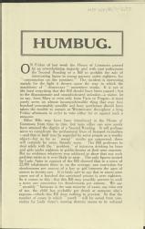 Humbug [MSS.420/BS/7/12/23]