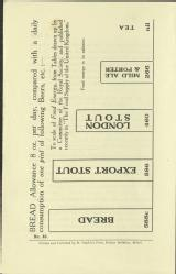 Beer and food [MSS.420/BS/7/12/25]