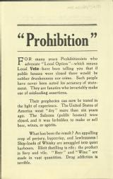 Prohibition [MSS.420/BS/7/12/31]