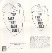 'The face that Jack built': text of a Teamsters Union pamphlet attacking John F Kennedy, 1960