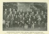 [1914] Swindon Branch, Workers' Union, officers, committee and brass band