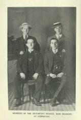 [1914] Members of the Devonport Branch, now working at Gibraltar