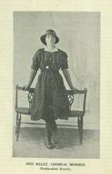 [1916] Miss Bailey, chemical worker (Huddersfield Branch)