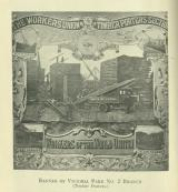 [1920] Banner of Victoria Park No.2 Branch (timber porters)